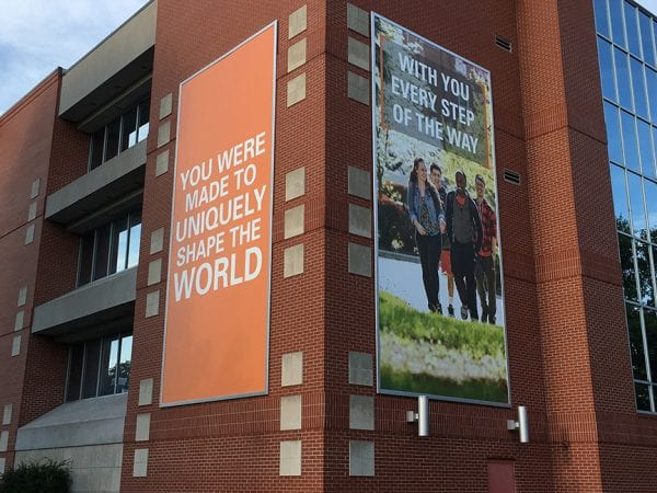Greenville University - Snap Frame Banners